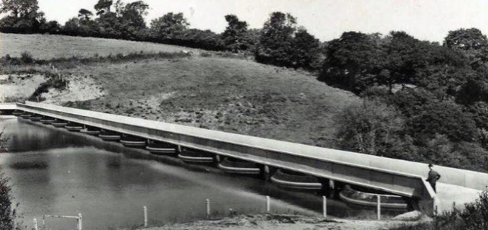 Tonneville le barrage rouland